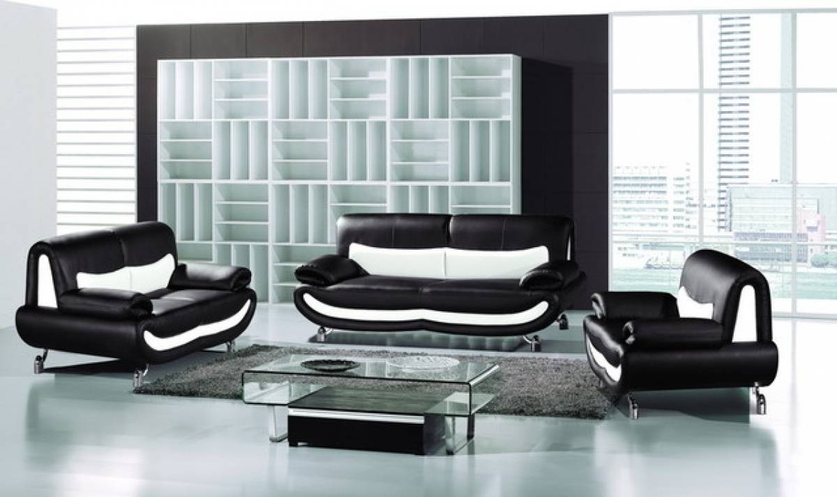 Terrific White Living Room Set Ideas – Living Room Furniture for Black And White Sofas (Image 25 of 30)