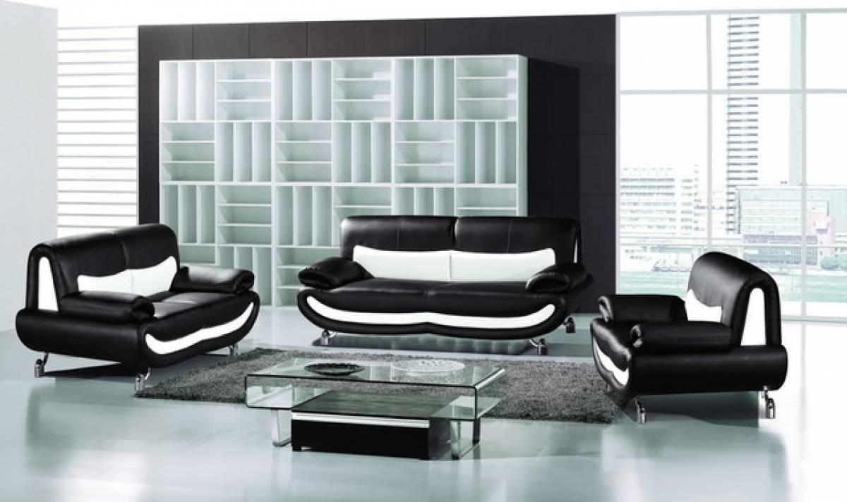 Terrific White Living Room Set Ideas – Living Room Furniture for Black And White Sofas (Image 25 of 30)