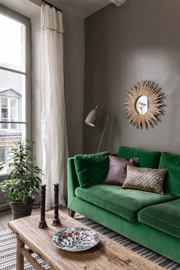 The 25+ Best Green Sofa Ideas On Pinterest | Green Living Room with Green Sofa Chairs (Image 28 of 30)