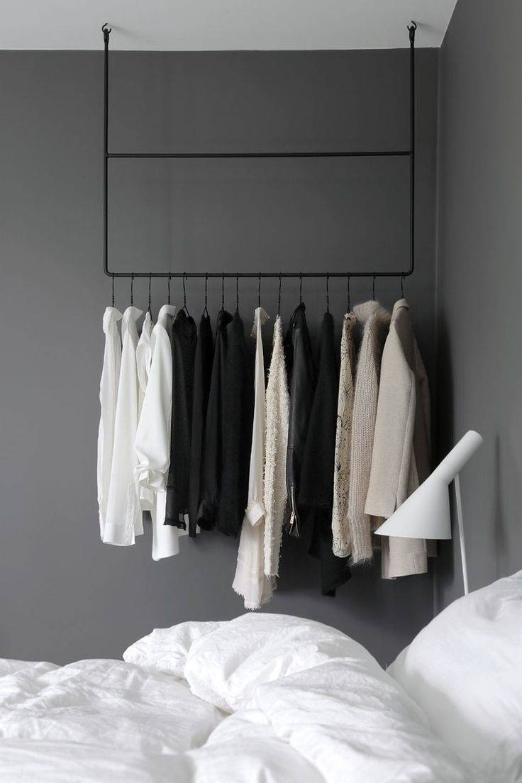 The 25+ Best Open Wardrobe Ideas On Pinterest | Hanging Wardrobe with regard to Double Black Covered Tidy Rail Wardrobes (Image 23 of 30)