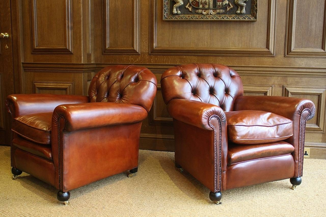 The Antiques Archive | Leather Chairs Of Bath | Antique And with regard to Vintage Leather Armchairs (Image 13 of 30)