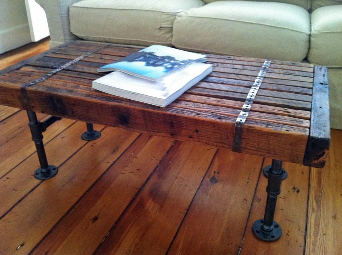 The Barn Wood Coffee Table — Home Ideas Collection throughout Rustic Barnwood Coffee Tables (Image 30 of 30)