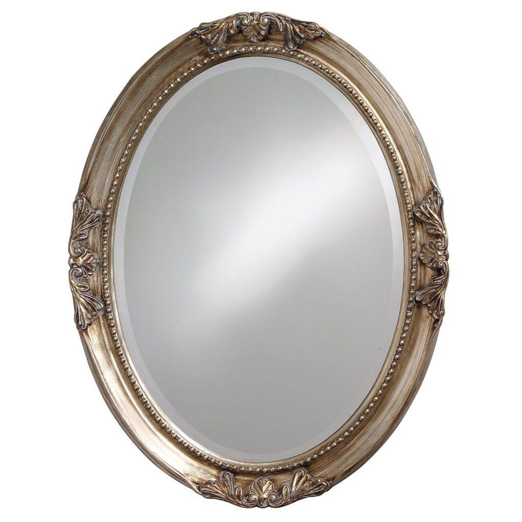 The Best Oval Mirrors For Your Bathroom | Decor Snob In Old Fashioned Mirrors (View 11 of 25)