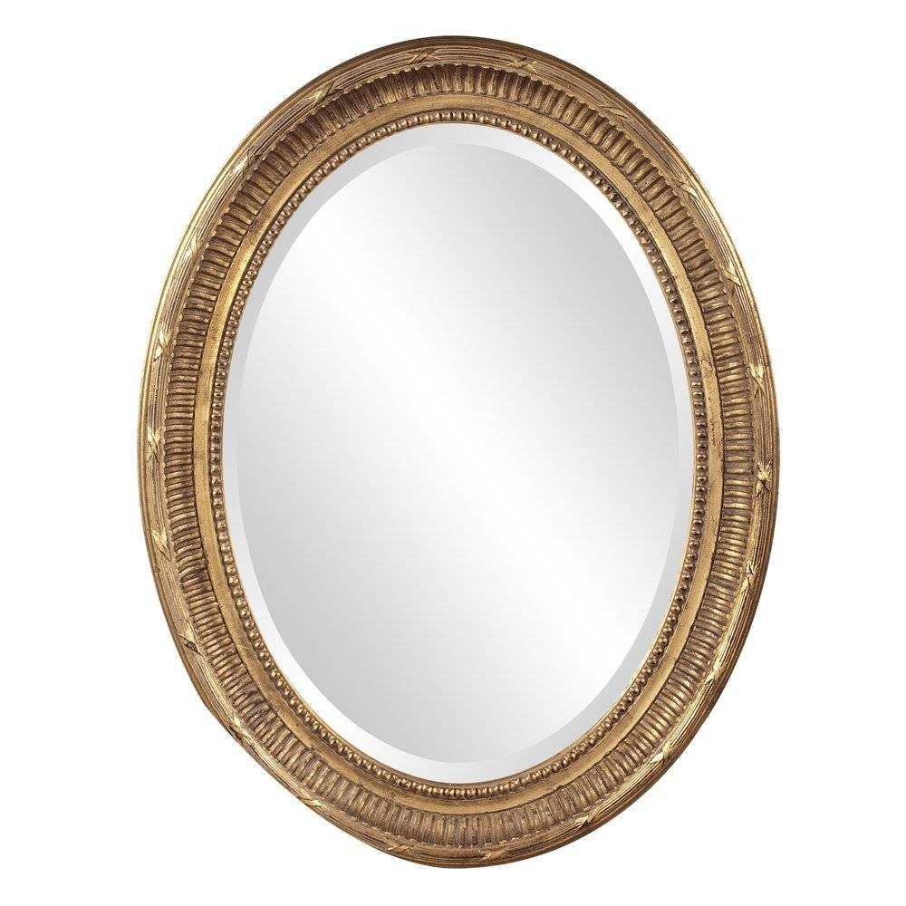 The Best Oval Mirrors For Your Bathroom | Decor Snob In Old Fashioned Mirrors (View 4 of 25)