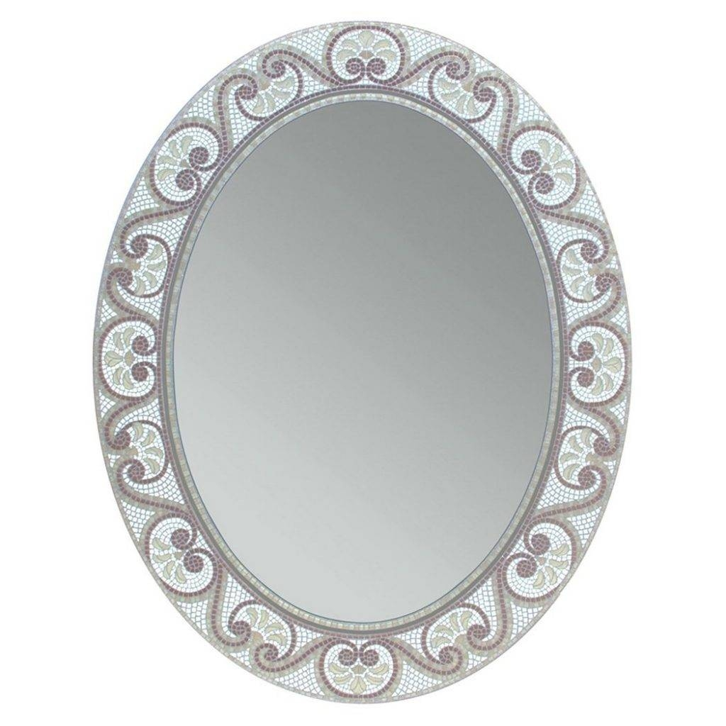 The Best Oval Mirrors For Your Bathroom | Decor Snob Within Old Fashioned Mirrors (View 24 of 25)