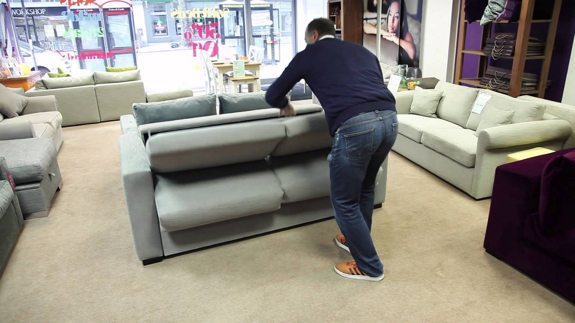 The Best Sofa Bed In The World - Youtube for Most Comfortable Sofabed (Image 28 of 30)