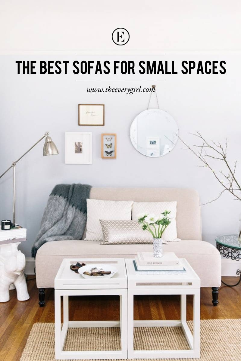 The Best Sofas For Small Spaces - The Everygirl throughout Armchairs For Small Spaces (Image 27 of 30)