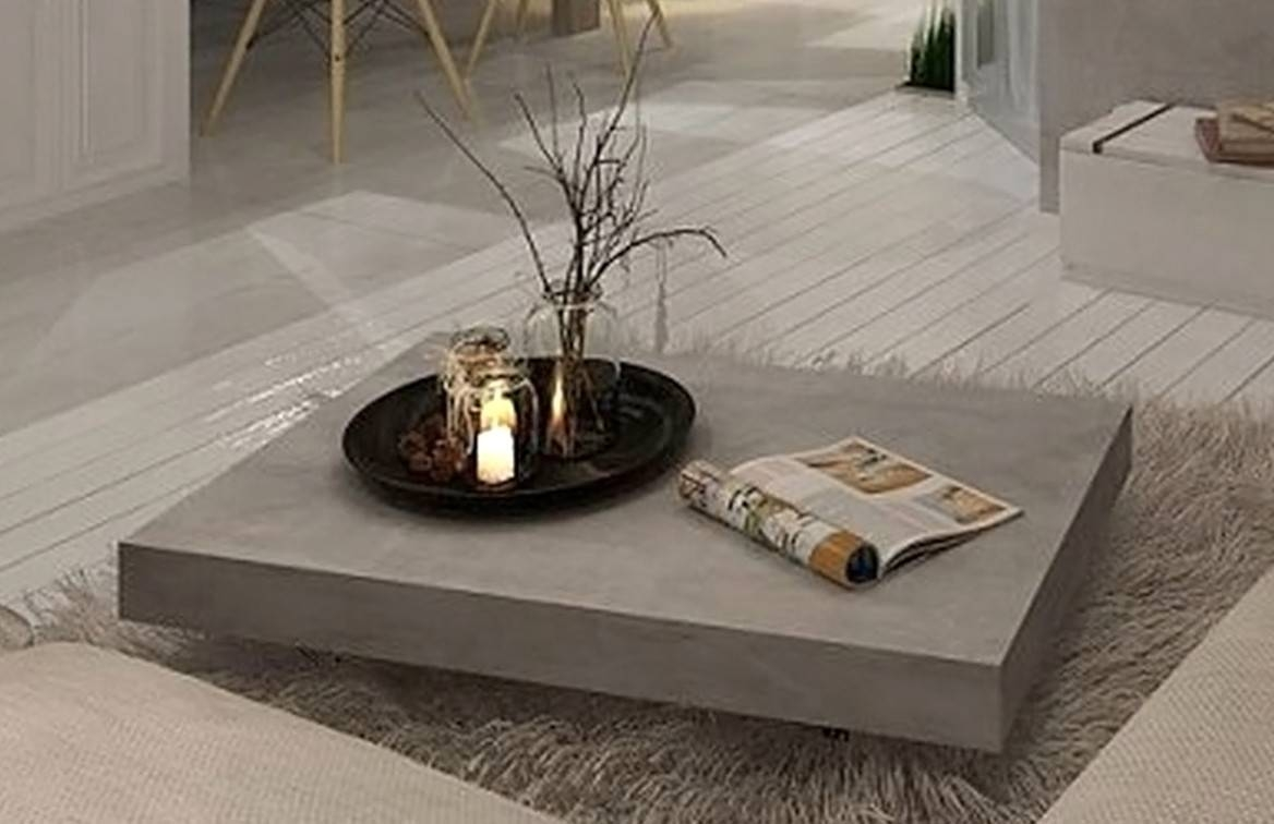 The Cools Concrete Coffee Table – Concrete Coffee Table Book Inside Low Industrial Coffee Tables (View 14 of 30)
