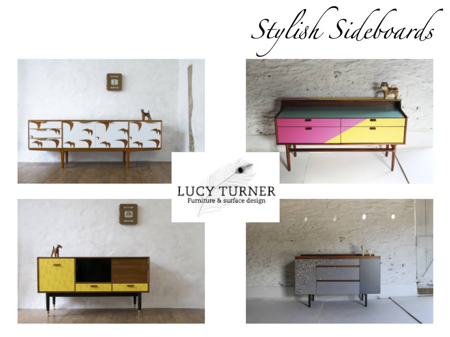 The Detail Style Blog: { Stylist Sideboards -Lucy Turner } throughout Retro Sideboards (Image 24 of 30)