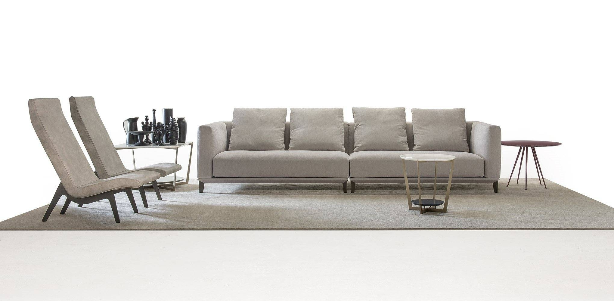 The Four-Seater Sofa With Removable Cushions Dylan, Alberta in Four Seater Sofas (Image 24 of 30)