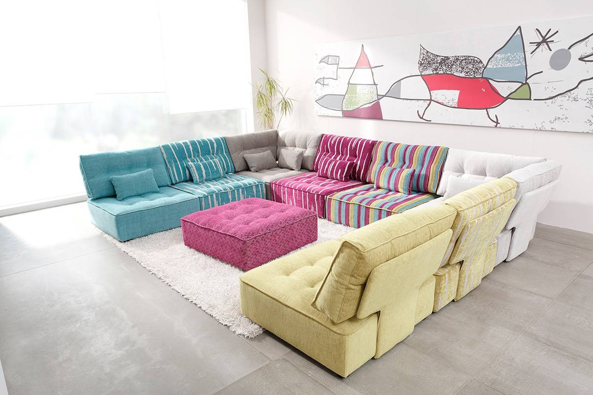 The Fully Customizable Arianne Love Sectional Sofa – Adorable Home in Colorful Sectional Sofas (Image 28 of 30)
