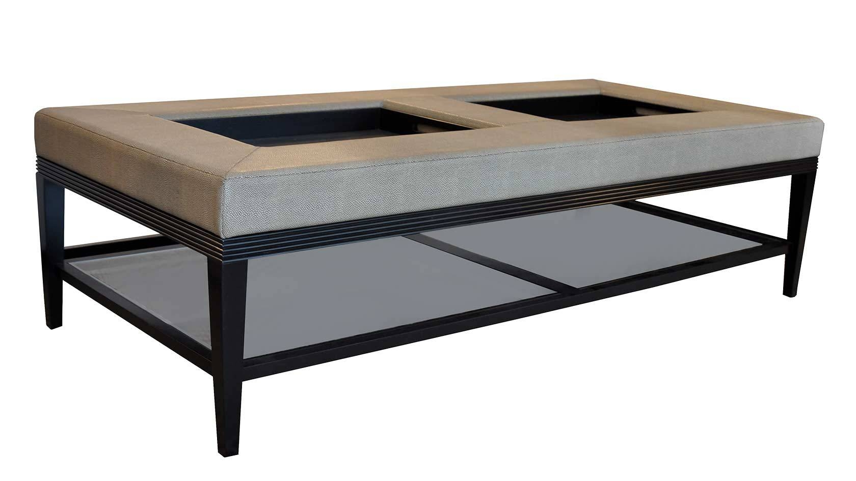 The Great Padded Coffee Table – Square Upholstered Coffee Table throughout Footstool Coffee Tables (Image 28 of 30)