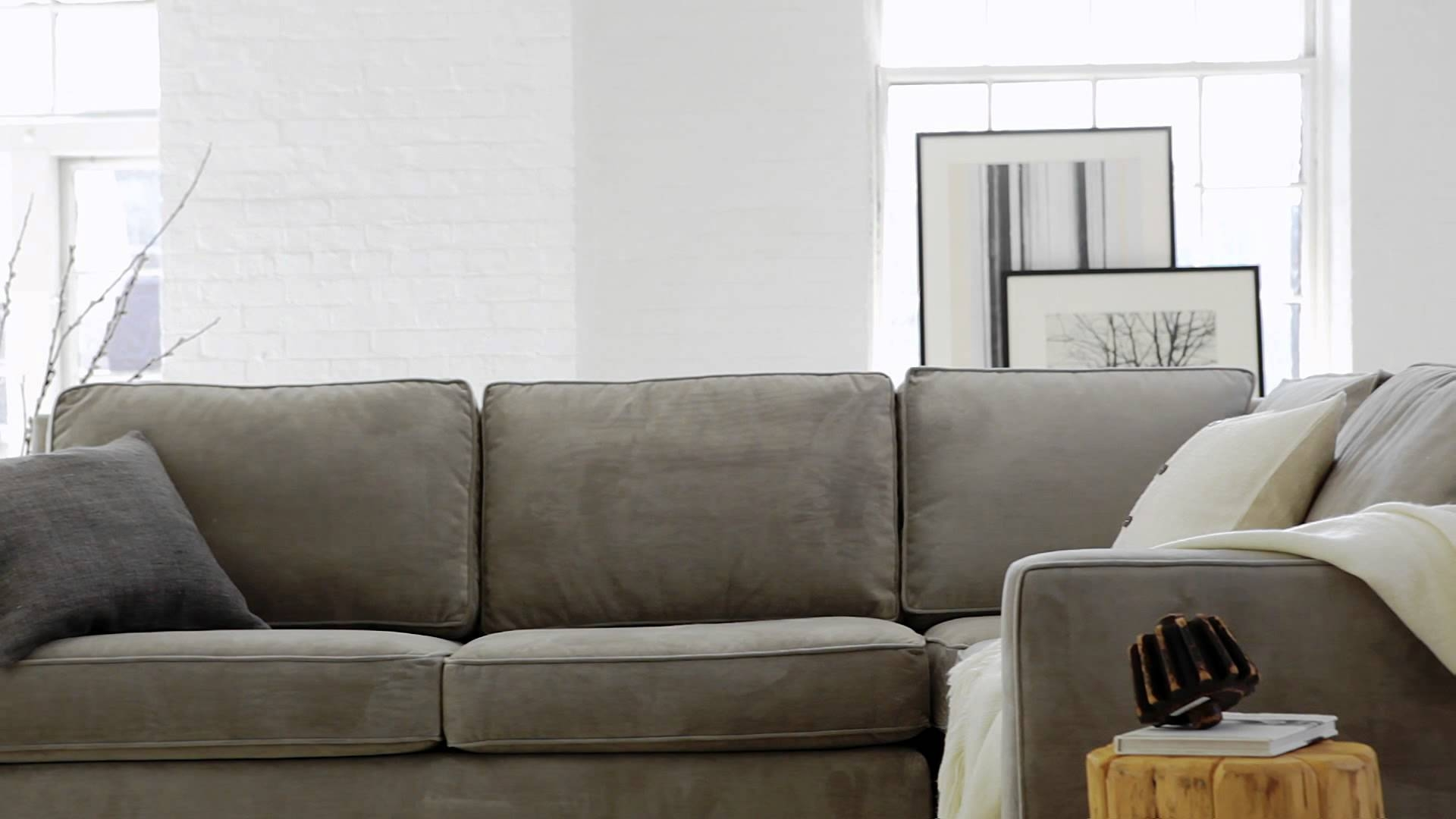 The Henry Collection: Classic, Contemporary Living Room Furniture with regard to West Elm Sectional Sofa (Image 27 of 30)