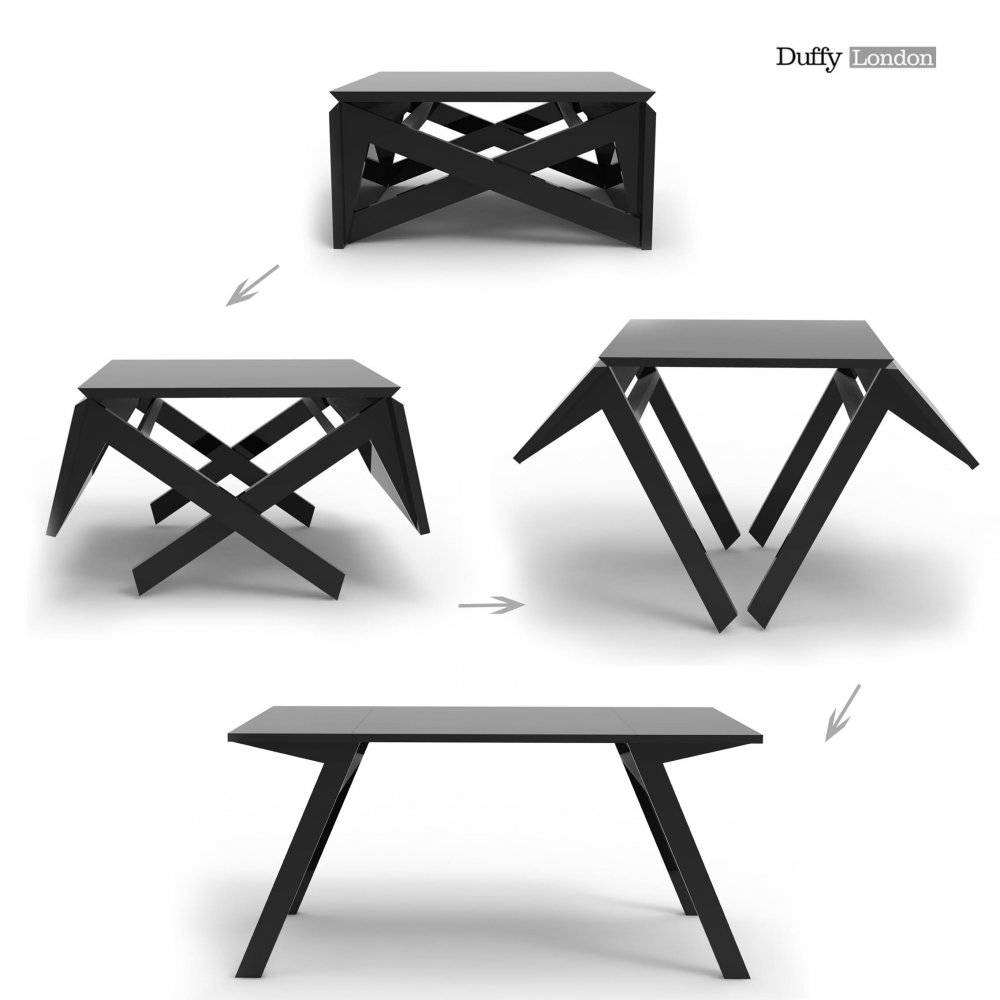 The Mk1 Transforming Coffee Table Can Convert Into A Dining Table in Coffee Table Dining Table (Image 21 of 30)