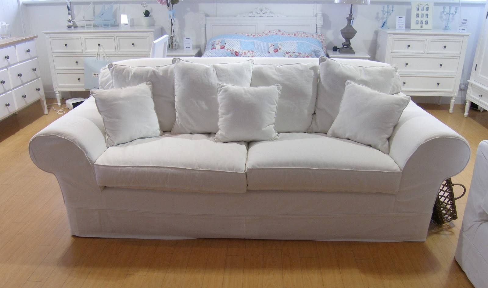 The Modern Housewives: Strategy For Effective Sofa Cleaning inside White Fabric Sofas (Image 26 of 30)