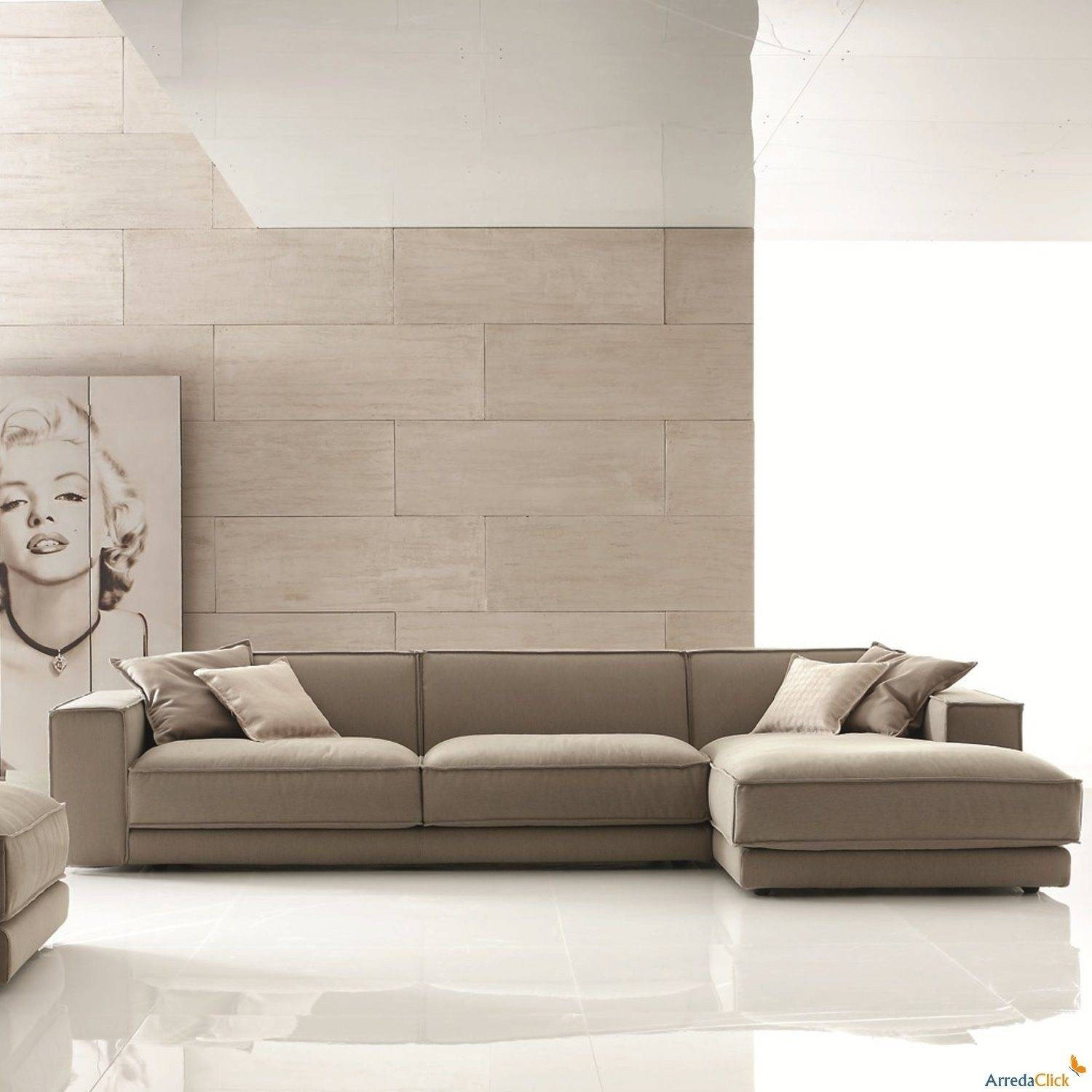 The Most Popular Long Sectional Sofa With Chaise 46 In Down Filled with regard to Down Filled Sofa Sectional (Image 25 of 25)