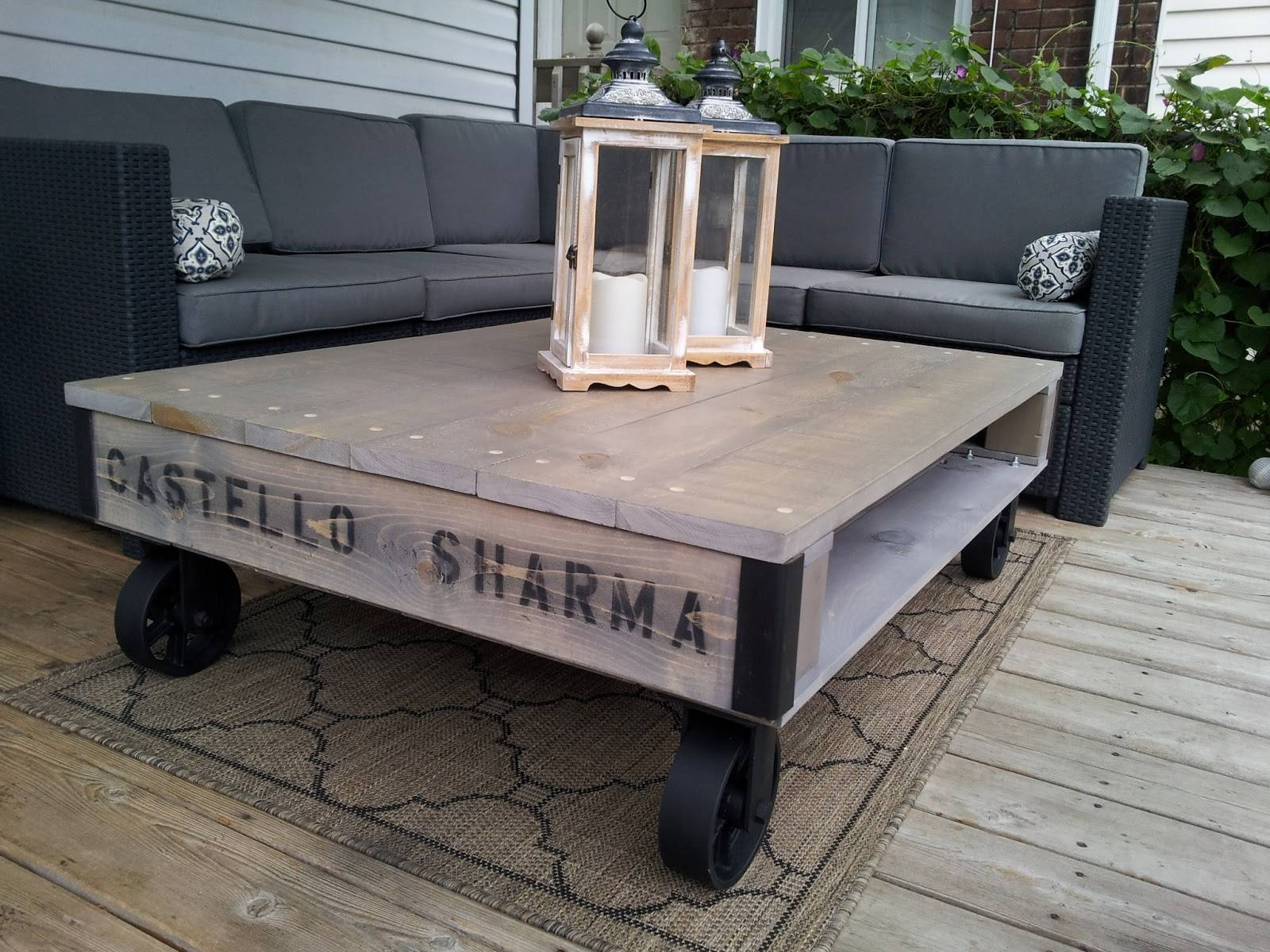The Refined Pallet with Grey Wash Coffee Tables (Image 29 of 30)