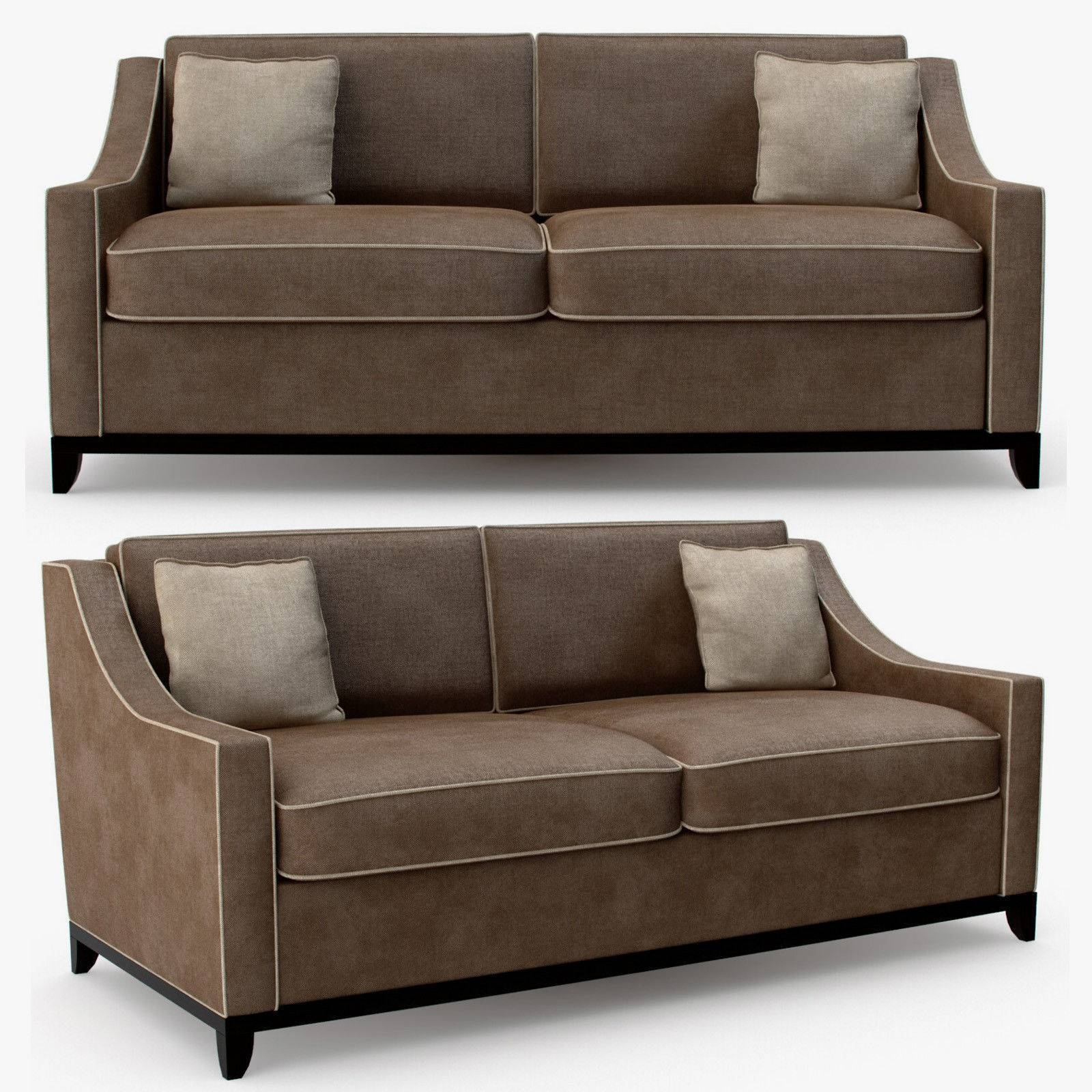 The Sofa And Chair Company - Spencer 2 Seater Sofa 3D Model Max inside 2 Seater Sofas (Image 26 of 30)