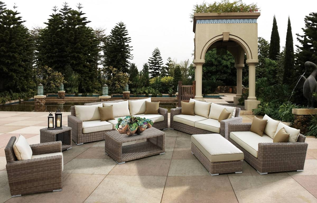 The Top 10 Outdoor Patio Furniture Brands in Outdoor Sofa Chairs (Image 29 of 30)