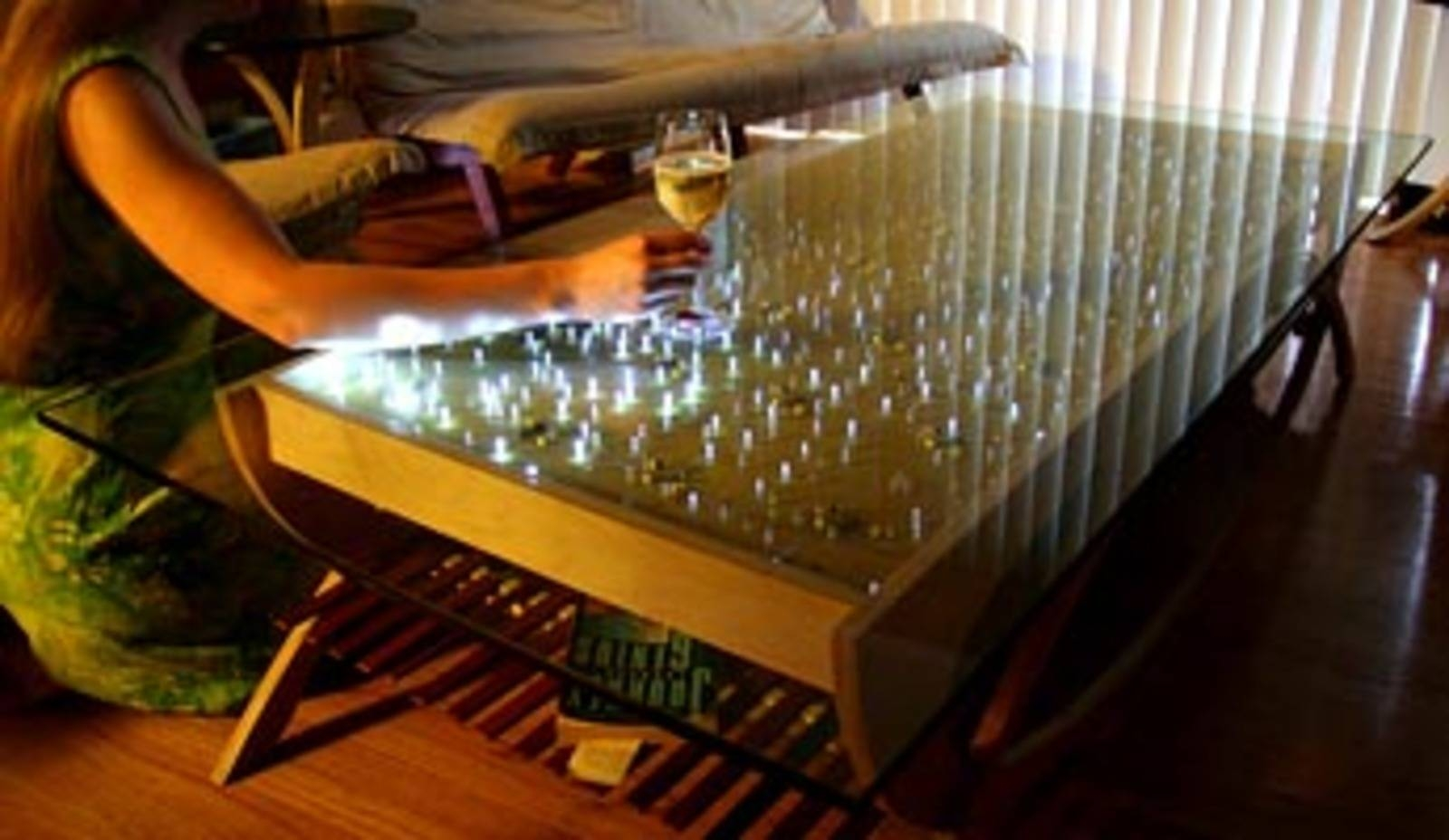 The Wave Interactive Led Coffee Table - Cool Hunting pertaining to Led Coffee Tables (Image 26 of 30)