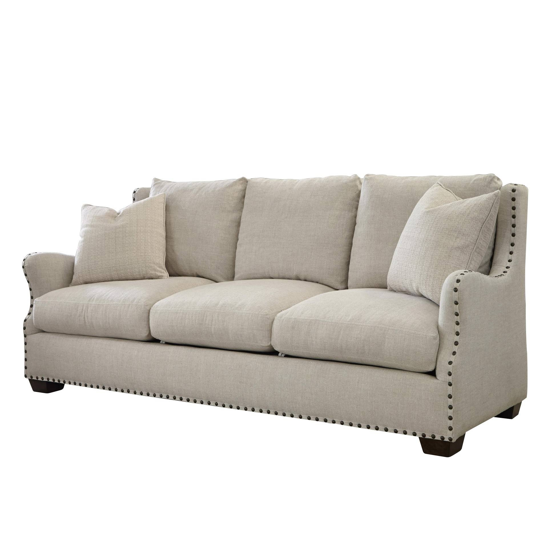 The Windsor Belgian Linen Sofa with regard to Windsor Sofas (Image 13 of 30)