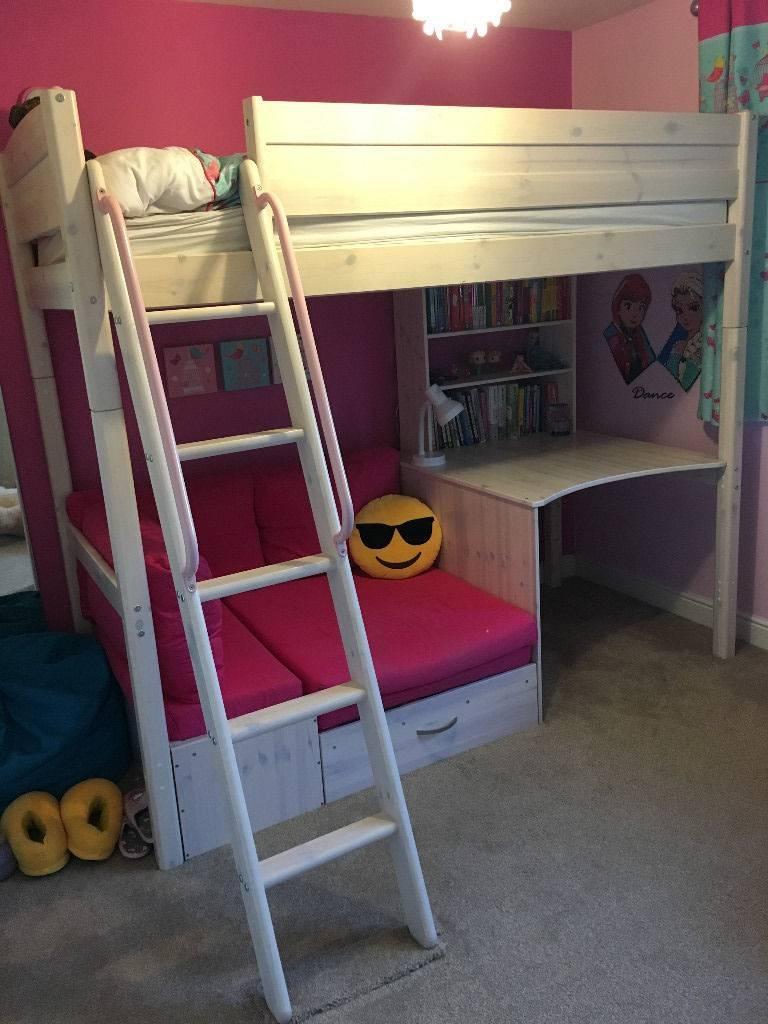 Thuka Trendy 29 High Sleeper Bed - Fantastic Kids Bed With Sofa within High Sleeper With Sofa And Desk (Image 20 of 25)