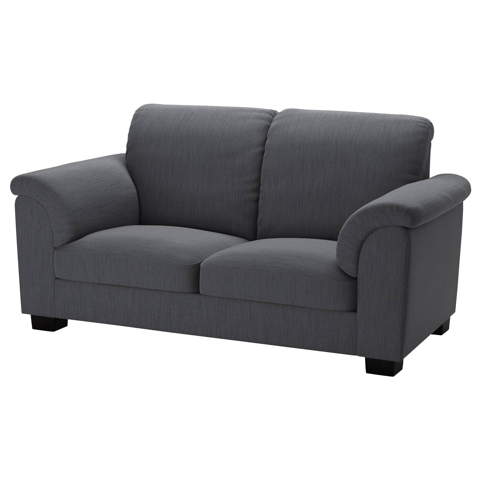 Tidafors Two-Seat Sofa Hensta Grey - Ikea with regard to Ikea Two Seater Sofas (Image 25 of 30)