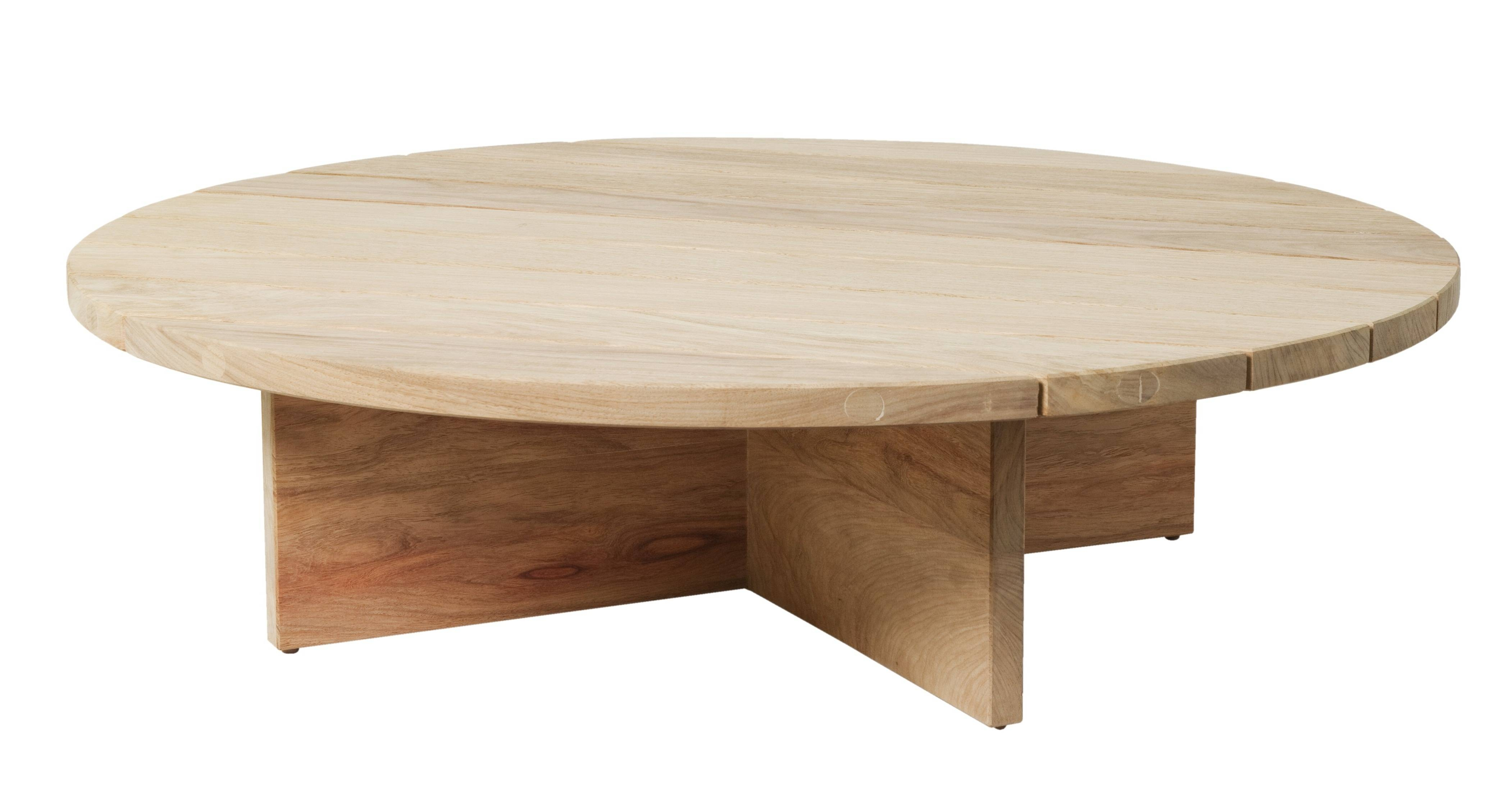Timber Round Wooden Coffee Table Simple Design – Side Tables For pertaining to Chunky Wood Coffee Tables (Image 22 of 30)