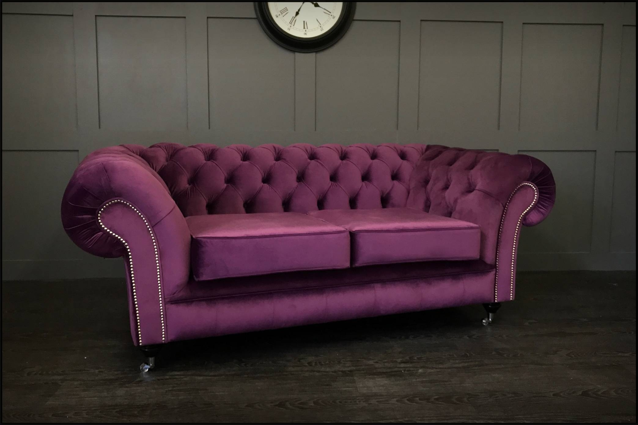 Timeless Chesterfield Sofas - Handmade Leather & Fabric with regard to Manchester Sofas (Image 27 of 30)