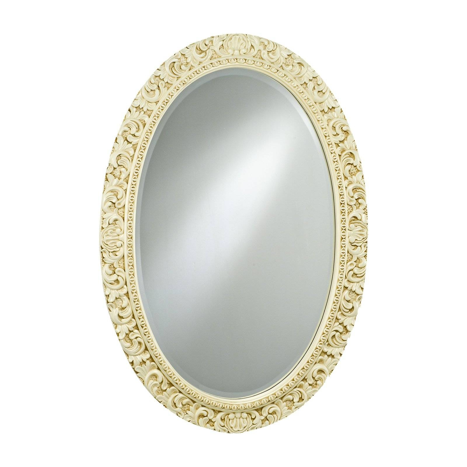 Timeless Tradition Ornate Oval Wall Mirror - 24W X 36H In. | Hayneedle with Ornate Oval Mirrors (Image 22 of 25)