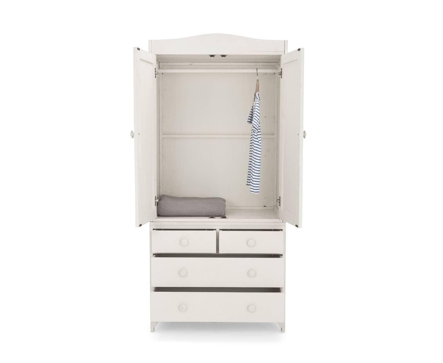 Tinks Kids' Wardrobe | Children's White Wardrobe | Loaf inside Childrens Wardrobes White (Image 13 of 15)