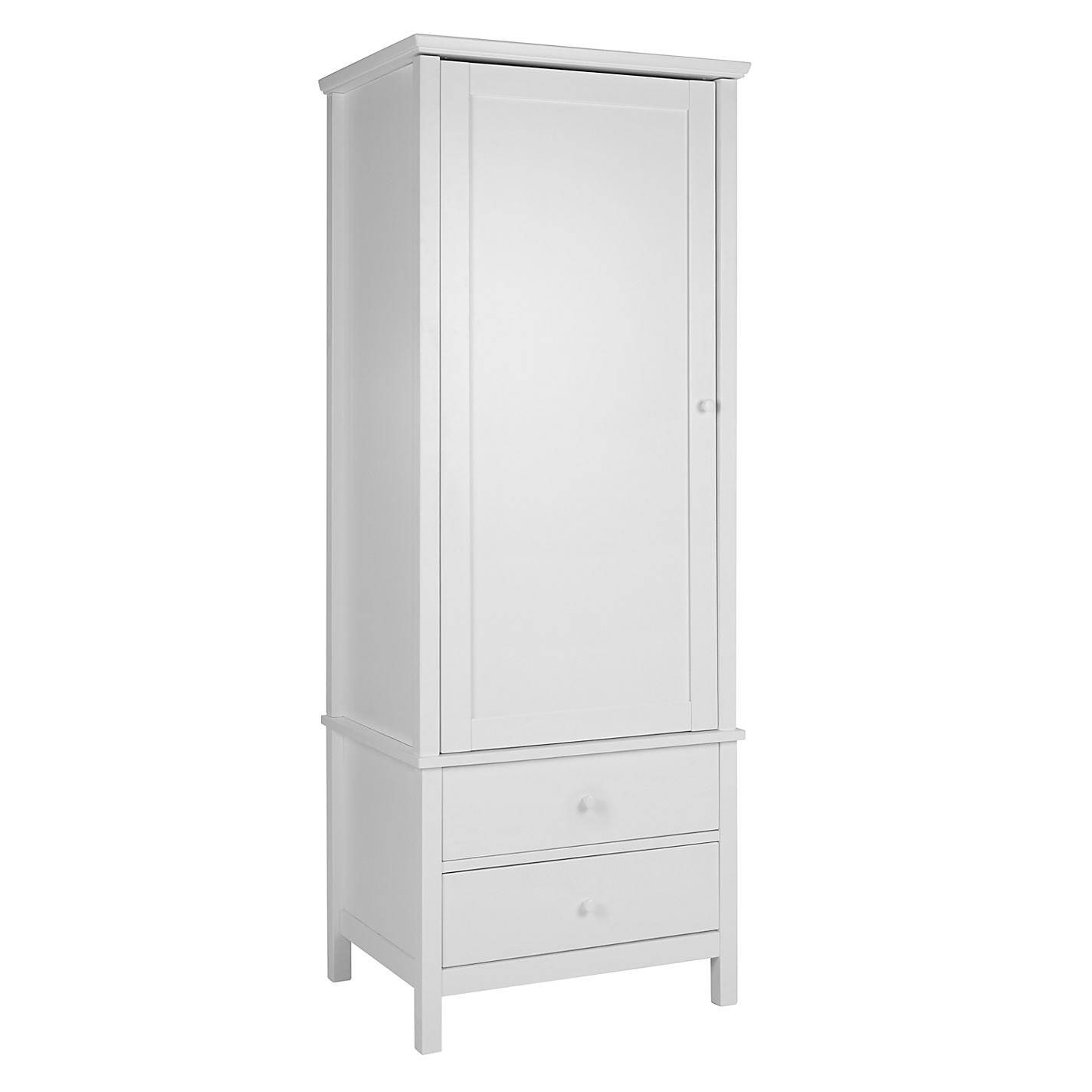 Tips To Choose Perfect White Wardrobes For Your Room – Designinyou with White Single Door Wardrobes (Image 10 of 15)