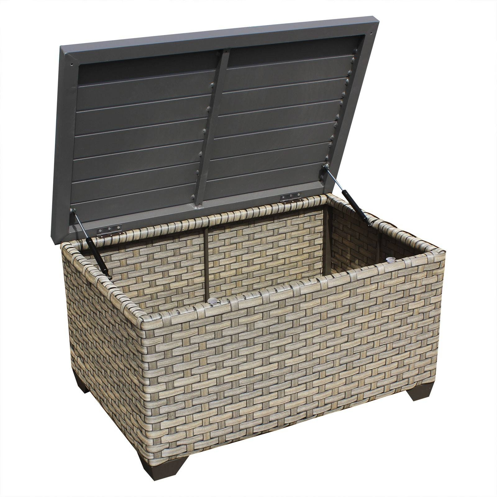 Tk Classics Monterey Storage Wicker Coffee Table - Wicker Coffee with regard to Monterey Coffee Tables (Image 27 of 30)
