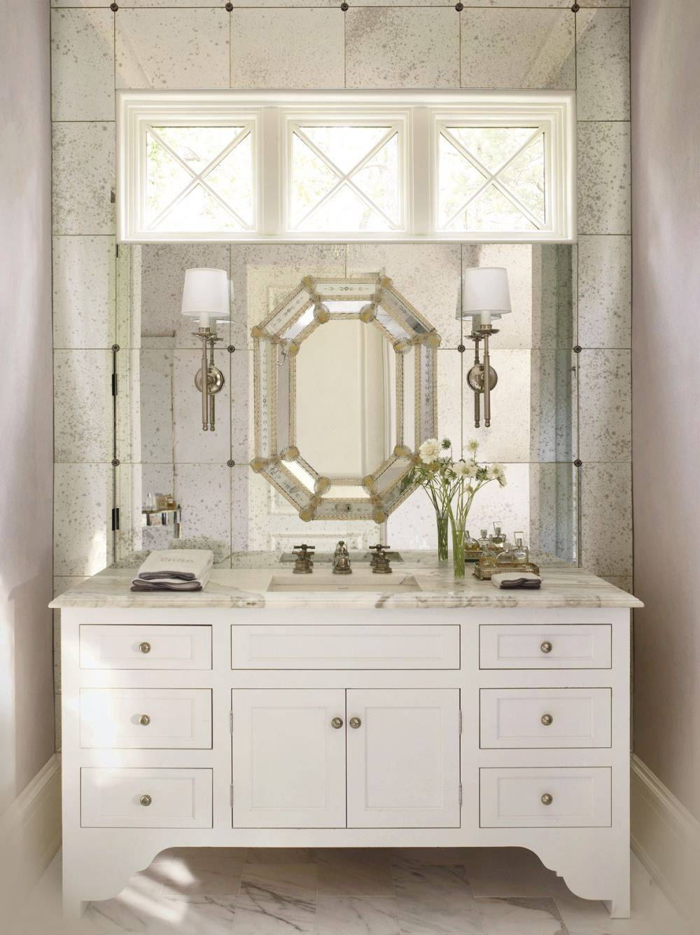 Today's Venetian Glass Mirrors throughout Venetian Bathroom Mirrors (Image 24 of 25)