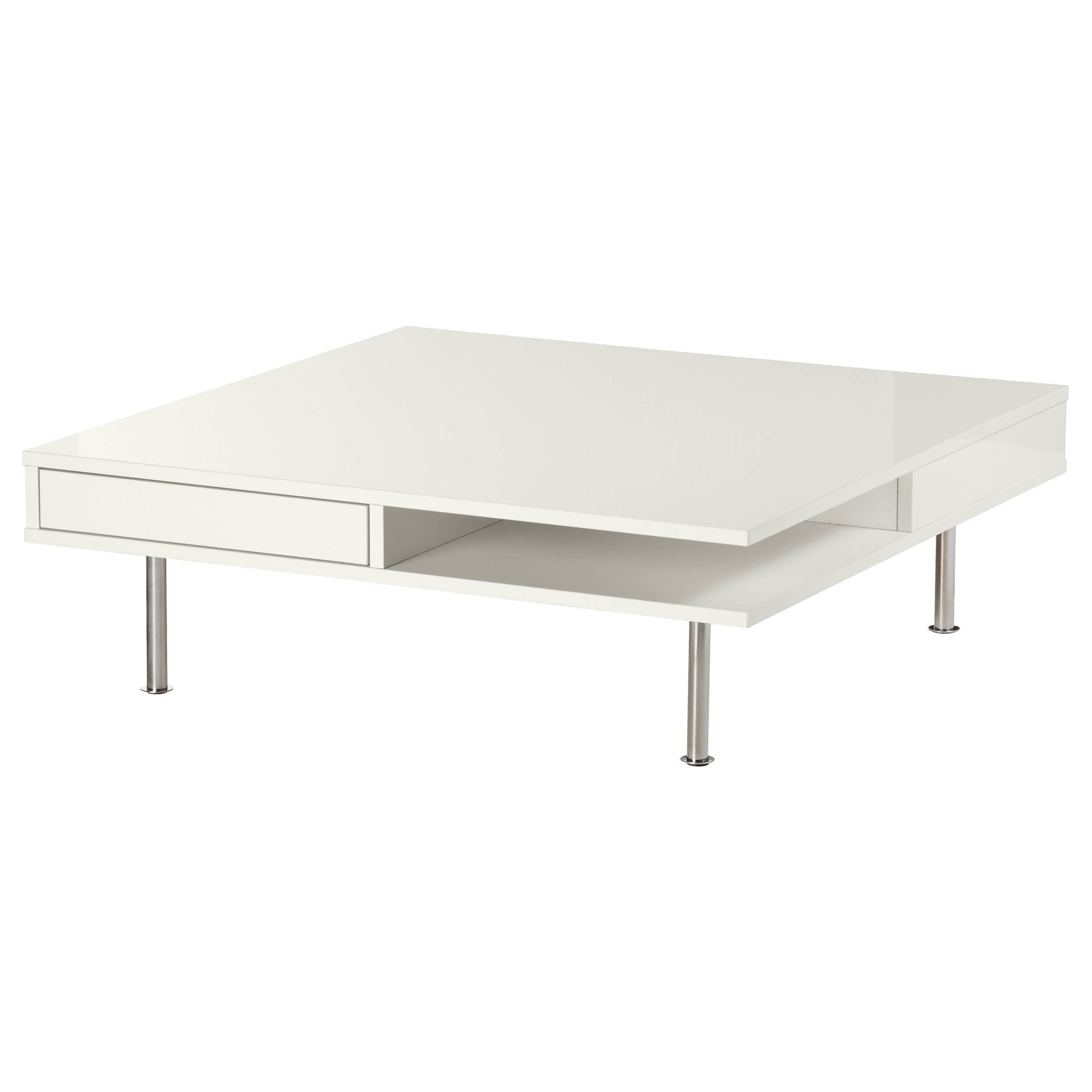 Tofteryd Coffee Table High-Gloss White 95X95 Cm - Ikea with High Gloss Coffee Tables (Image 27 of 30)