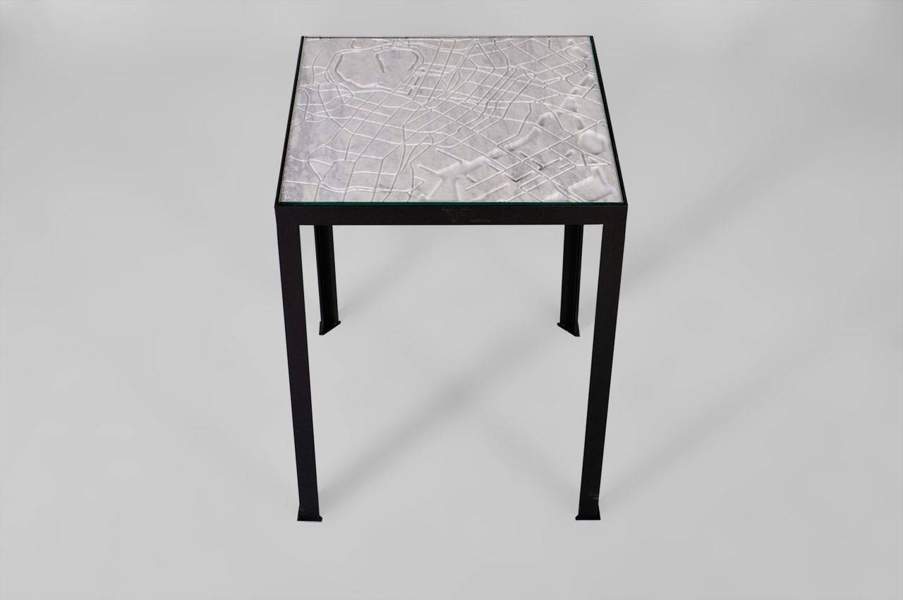 "Tokyo"" Marble Coffee Table From The City Collectionmaison & Maison regarding Tokyo Coffee Tables (Image 29 of 30)"