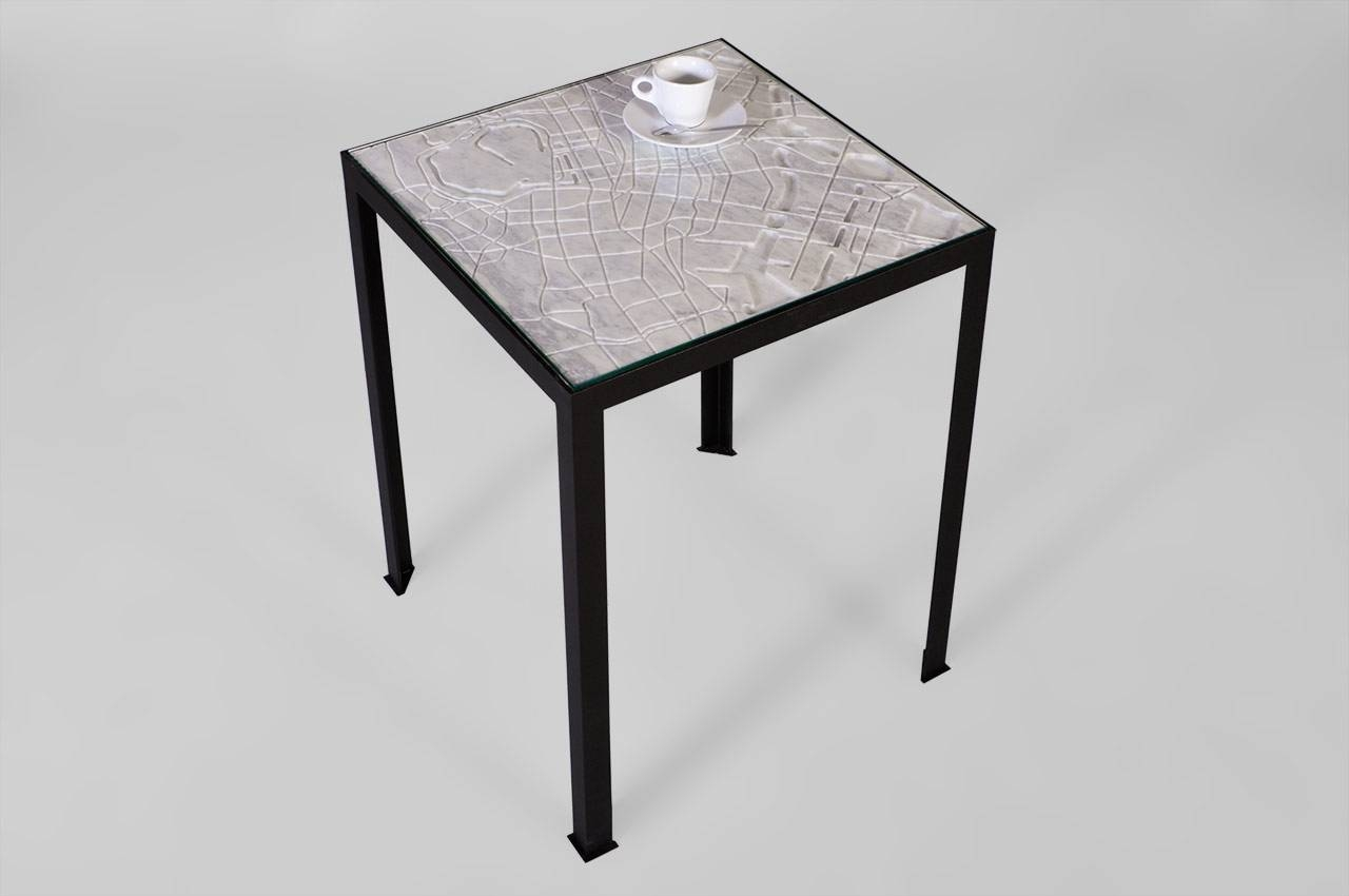 "Tokyo"" Marble Coffee Table From The City Collectionmaison & Maison with regard to Tokyo Coffee Tables (Image 30 of 30)"