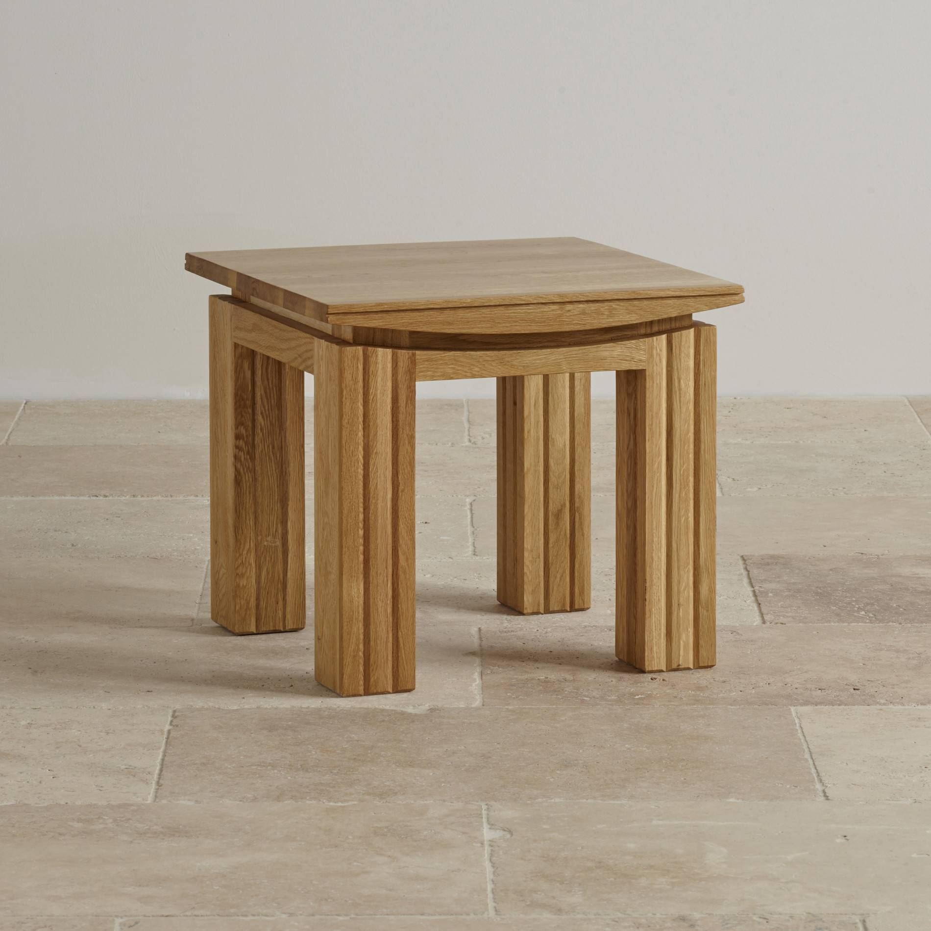 Tokyo Natural Solid Oak Side Table | Living Room Furniture throughout Tokyo Coffee Tables (Image 25 of 30)