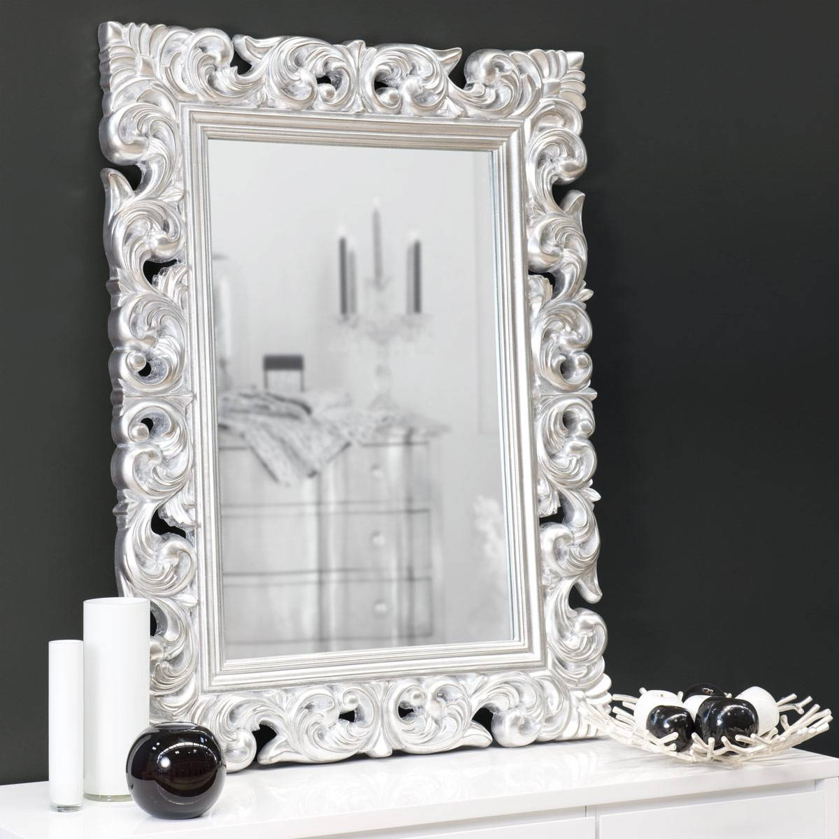 Top 15 Decorative Mirror Designs | Mostbeautifulthings inside White Decorative Mirrors (Image 22 of 25)