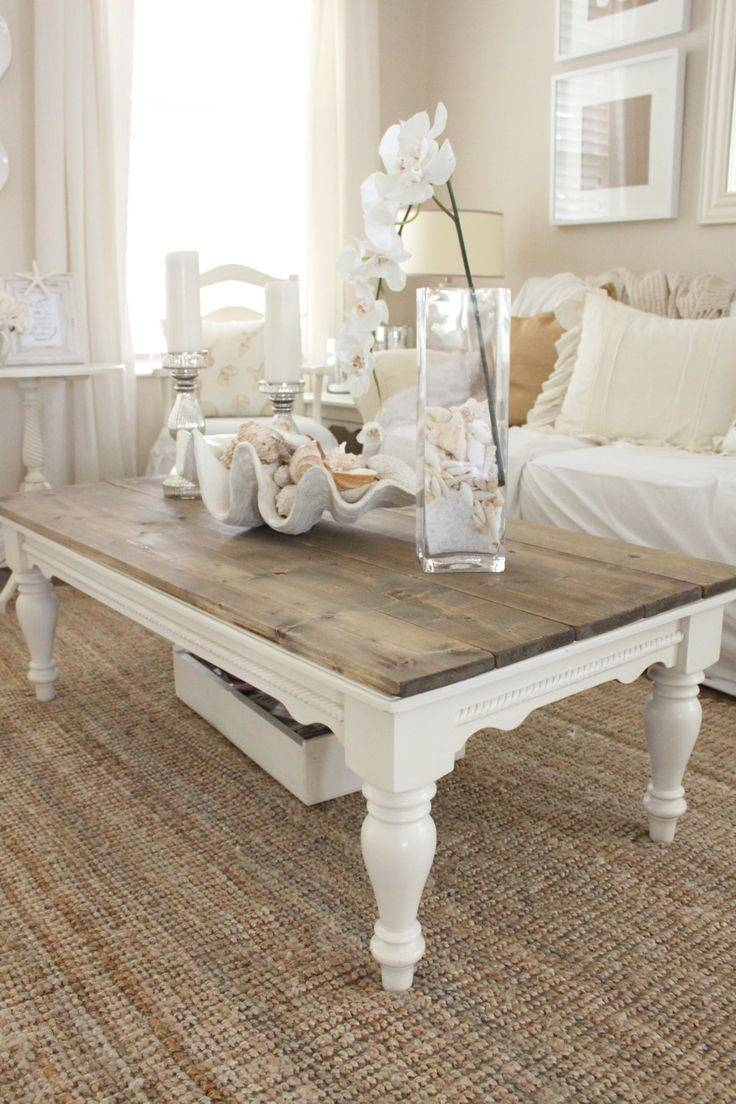 Featured Photo of White Cottage Style Coffee Tables