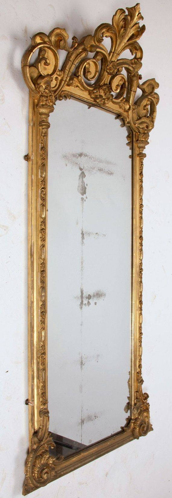 Top 25+ Best Large Gold Mirror Ideas On Pinterest | Painting Throughout Big Vintage Mirrors (View 22 of 25)