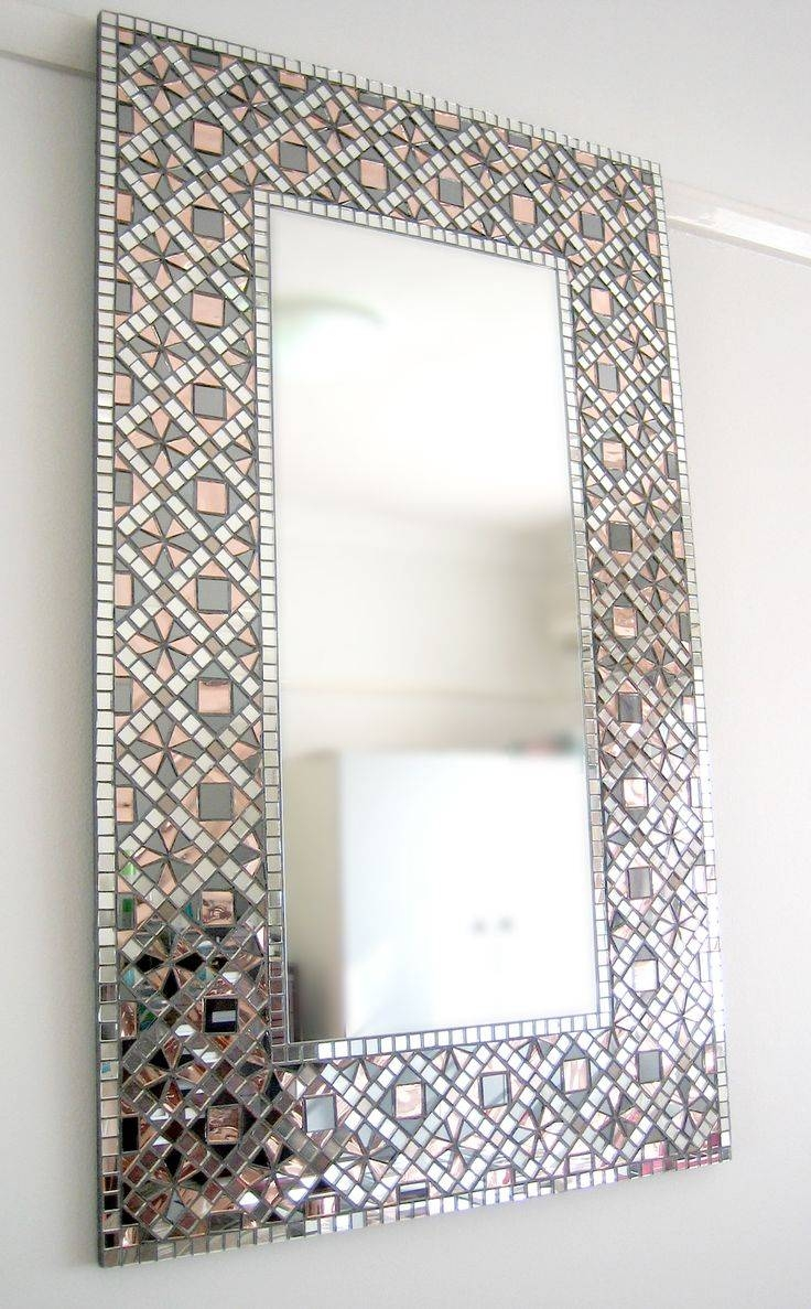 Top 25+ Best Mosaic Mirrors Ideas On Pinterest | Mosaic, Mosaic in Glitter Frame Mirrors (Image 24 of 25)