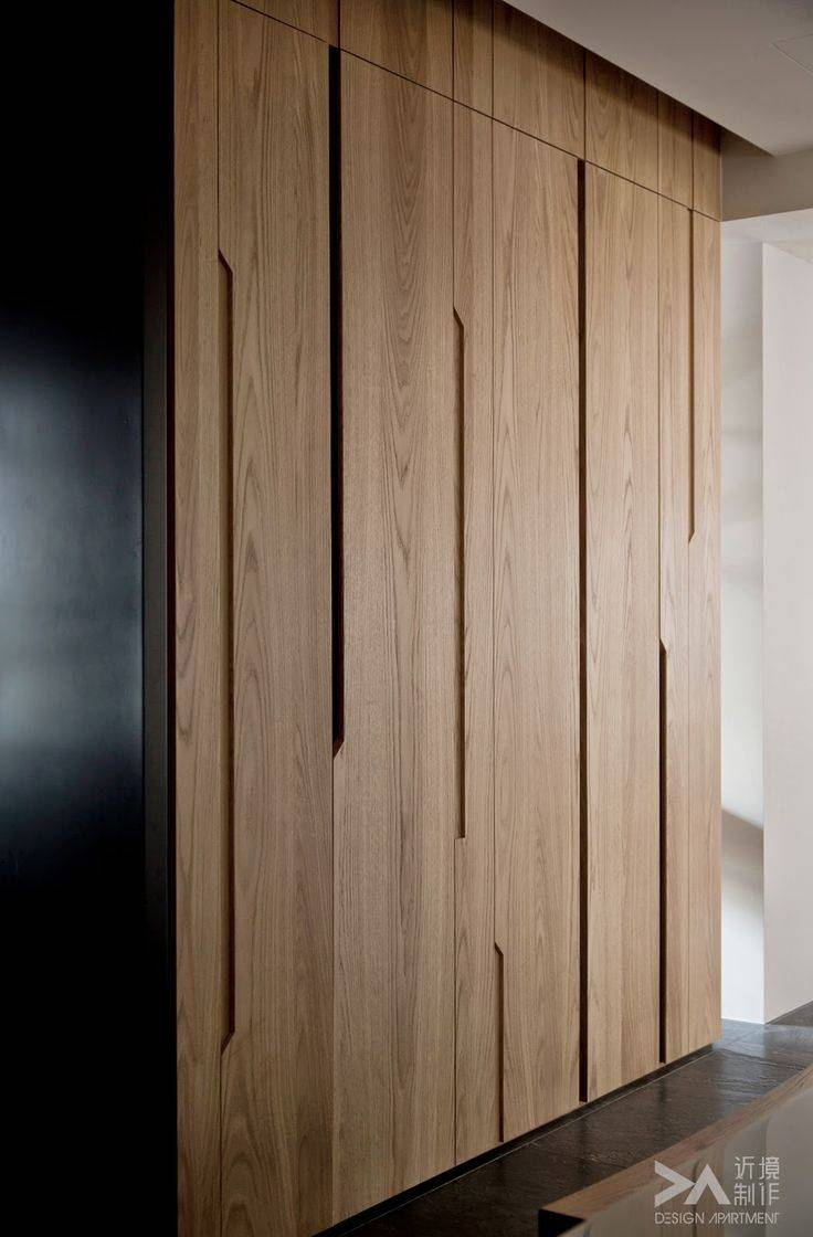 Top 25+ Best Sliding Wardrobe Doors Ideas On Pinterest | Wardrobe within Solid Wood Fitted Wardrobes (Image 23 of 30)
