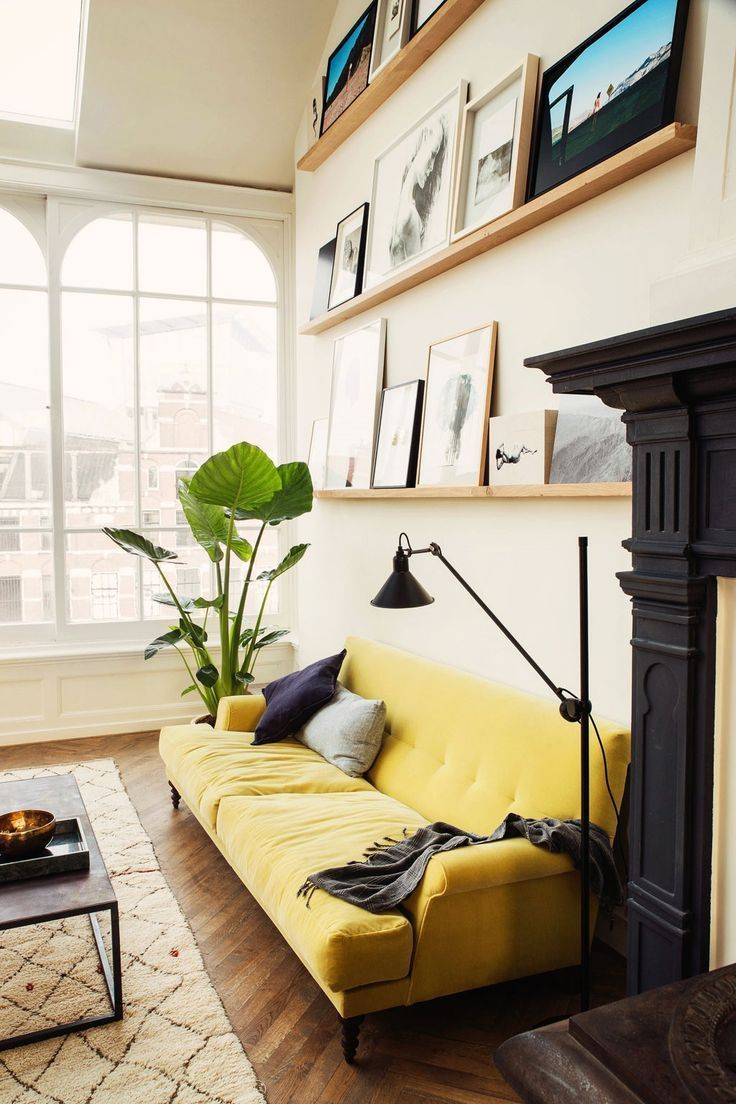 Top 25+ Best Yellow Couch Ideas On Pinterest | Gold Couch, Mustard for Yellow Sofa Chairs (Image 27 of 30)