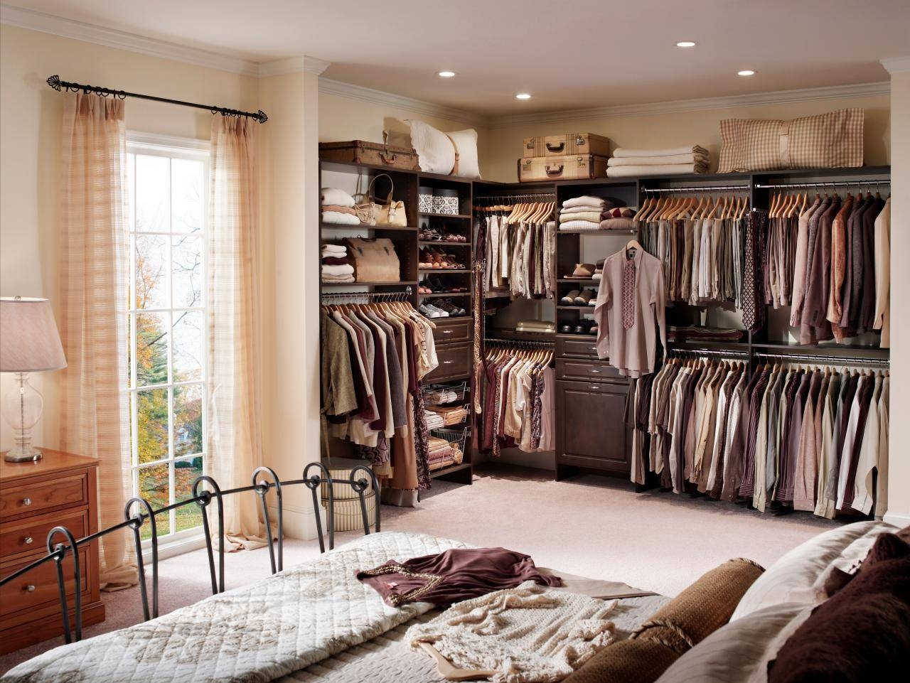 Top 3 Styles Of Closets | Hgtv for Wardrobe Double Hanging Rail (Image 22 of 30)