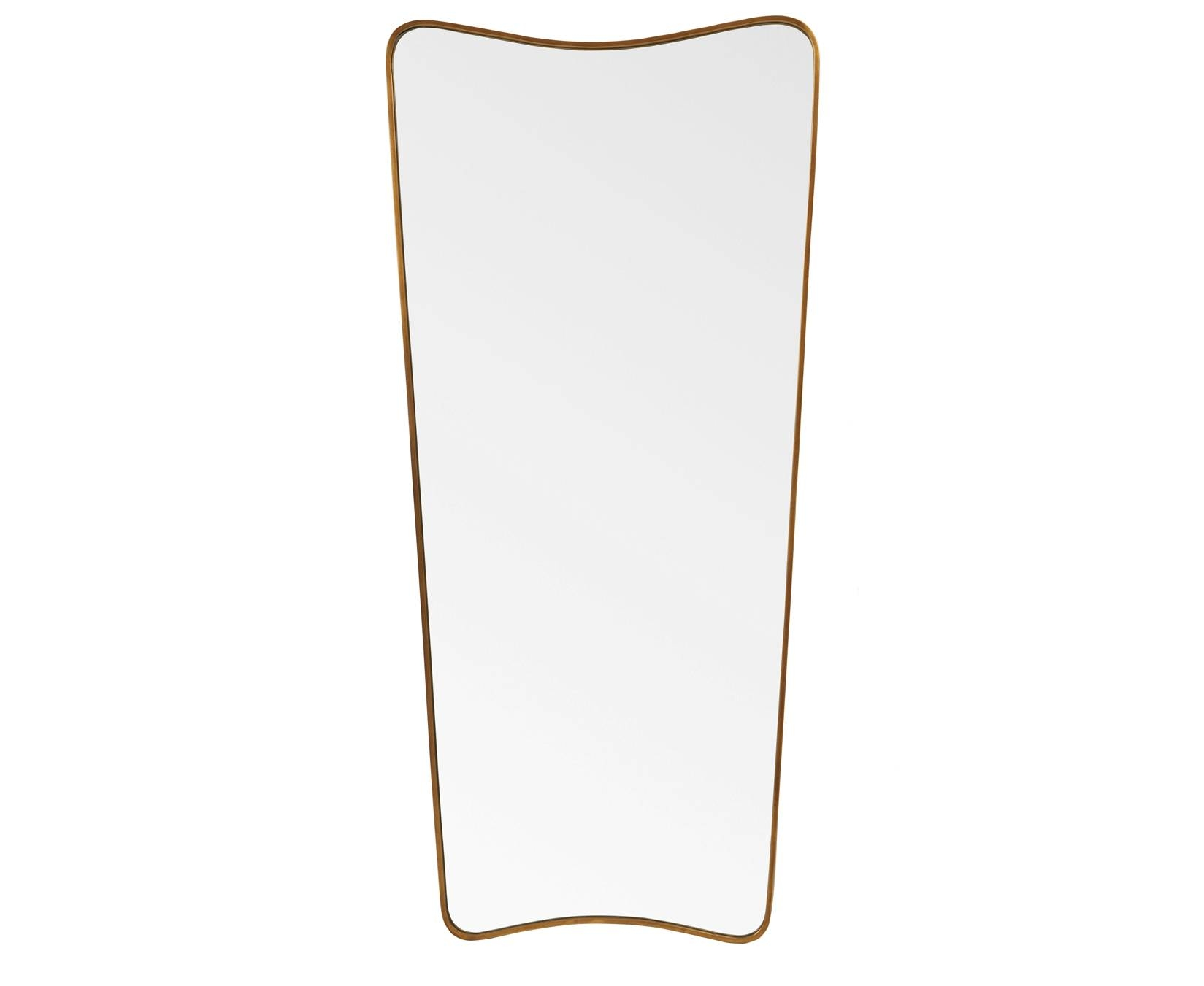 Top Brass Mirror | Retro Full Length Mirror | Loaf | Loaf for Full Length Vintage Standing Mirrors (Image 24 of 25)