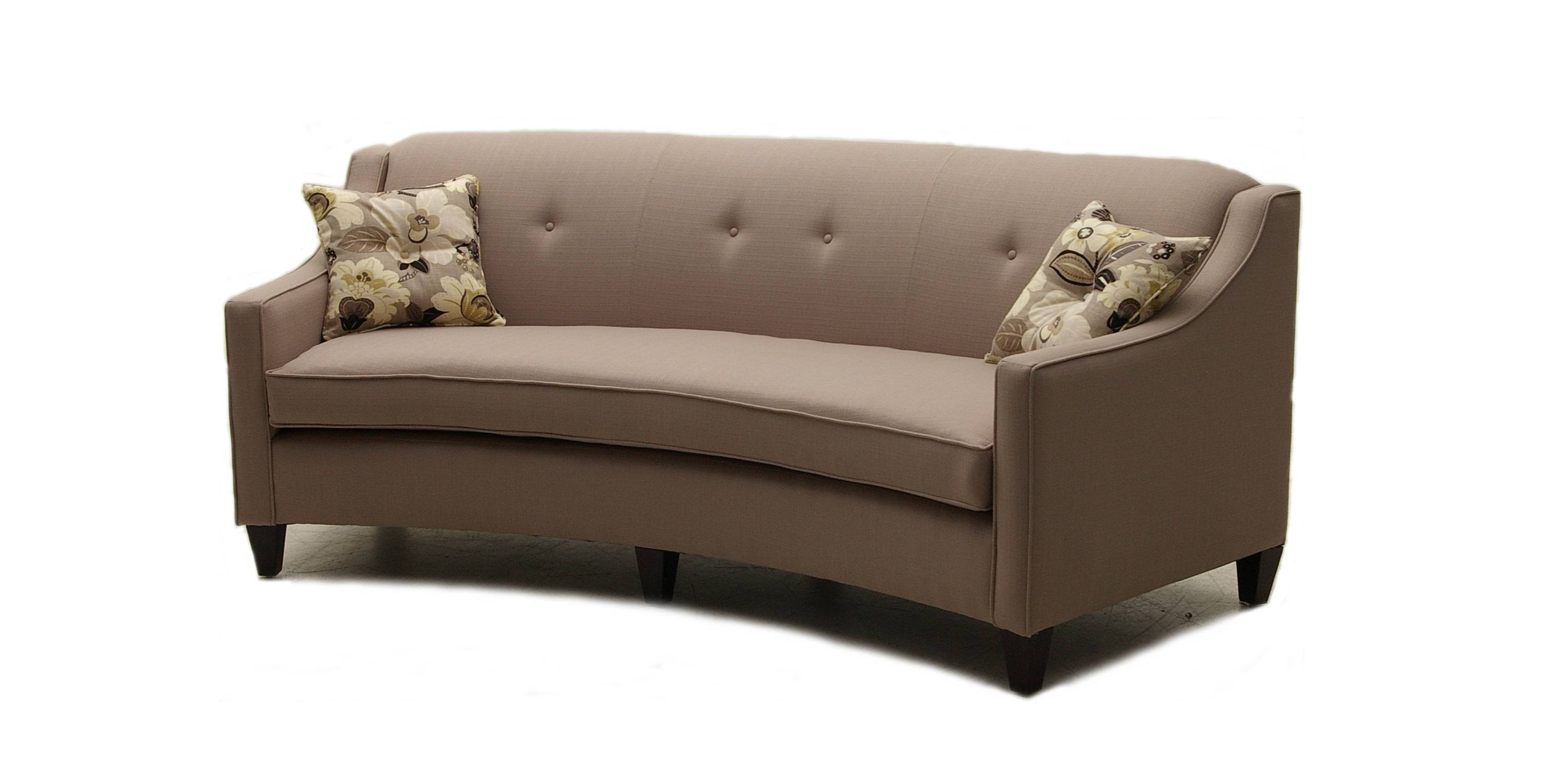 Top Modern Curved Sofa With Contemporary Curved And Round Regarding  Contemporary Curved Sofas (Image 30