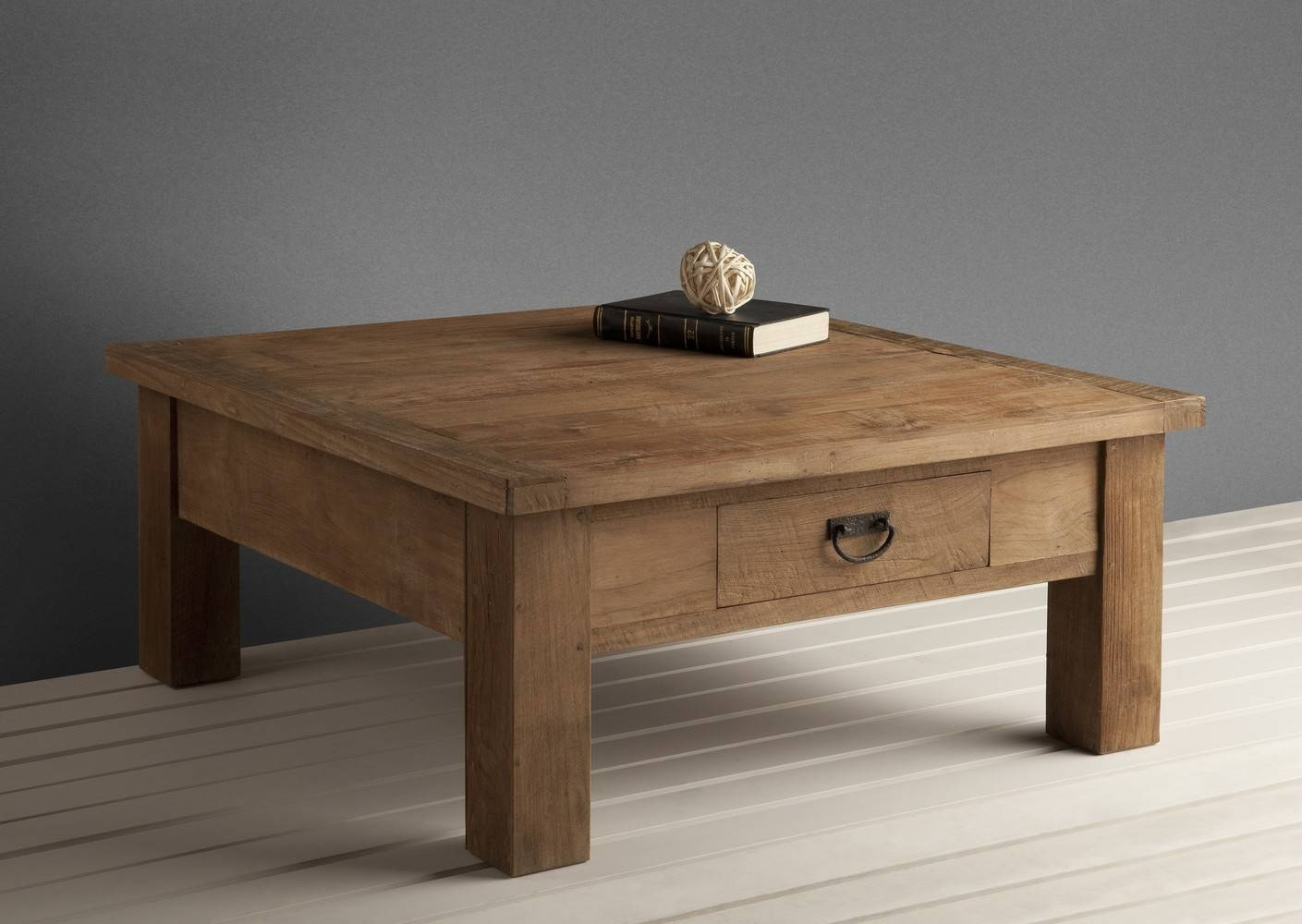 Top Solid Wood Coffee Table With Drawers In Small Home Interior within Small Coffee Tables With Drawer (Image 30 of 30)