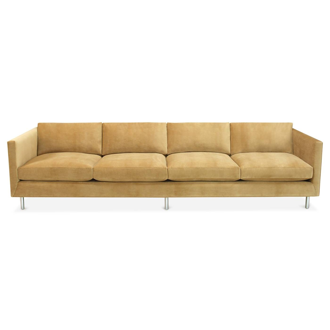 Topanga Four-Seater Sofa | Modern Furniture | Jonathan Adler regarding Four Seater Sofas (Image 25 of 30)