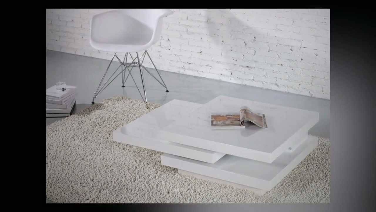 Torino Rotatable Coffee Table - Youtube within Torino Coffee Tables (Image 22 of 30)
